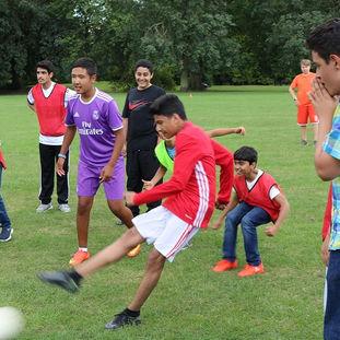 Футбол в Риджентс-парке