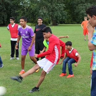 Football in Regent's Park