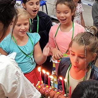 يتم الاحتفال بكل عيد ميلاد