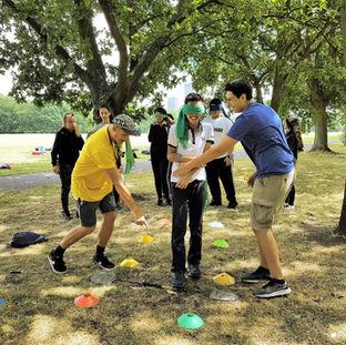 Teambuilding im Regent's Park