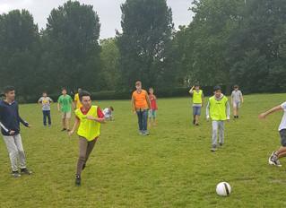 Football in Regent's Park is a real winner