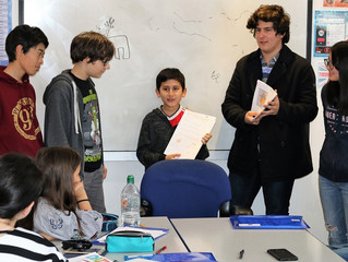 Read all about it: students learn how to create a newspaper in English