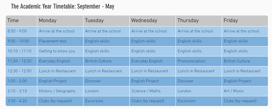 Academic year timetable.PNG