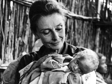 Неизвестная Одри Хепберн
