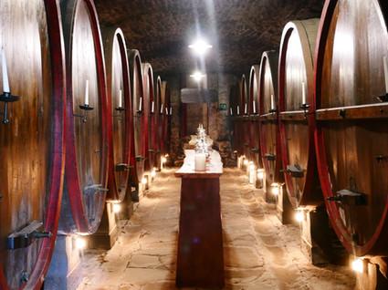 Vinkällaren. Den äldsta i Toscana påstås det.