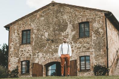 Bröllop i Toscana - fasaden