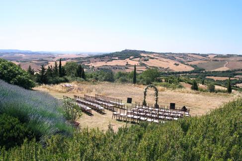 Ceremoniplats för större sällskap