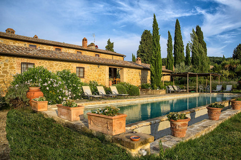 Egen toscansk villa