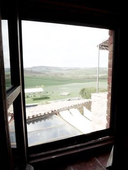 Utsikt från övervåningen