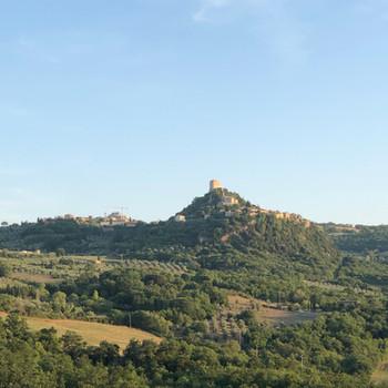 Utsikt över castellet