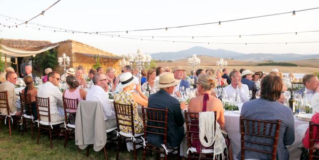 bröllopsmiddag vid villa no2