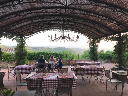 """""""Piazzan"""" under vackert tak"""