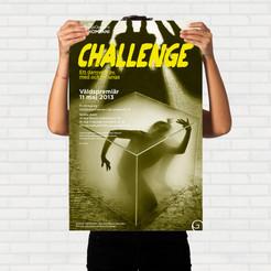 Affisch dansföreställlning