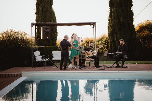 livemusik vid poolen