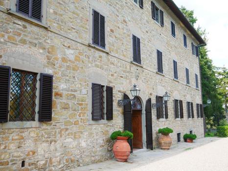 Villan med plats för ca 30 gäster.
