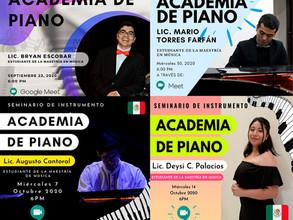 Alumnos de la maestría en música colaboran con el CIM