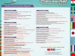Ensambles y solistas de la Facultad de Música participan en Festival Internacional de Marimbistas.