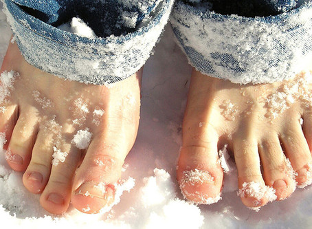 6 Tips for Winter Foot Care