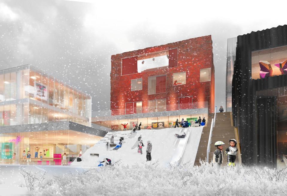 Dongbuk snowy slope.jpg