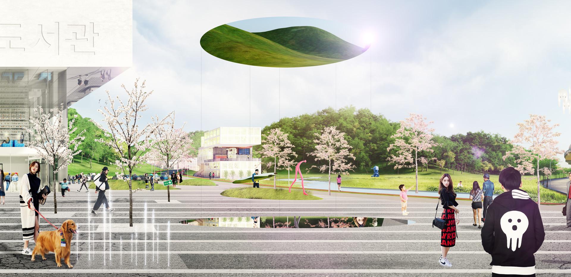 1801 Busan_entrance square panorama.jpg