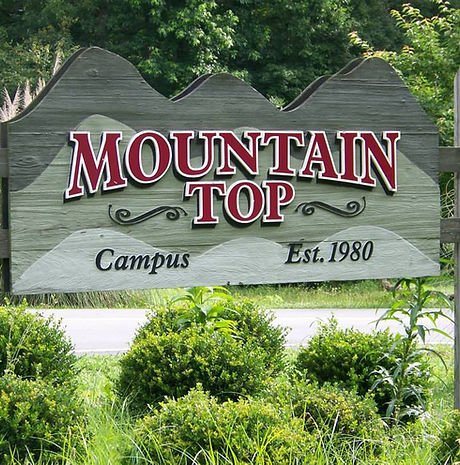 Mountain Top Boys Home Entrance