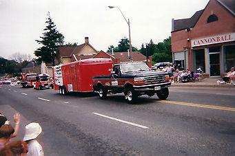 Aurora Canada Day Parade1997