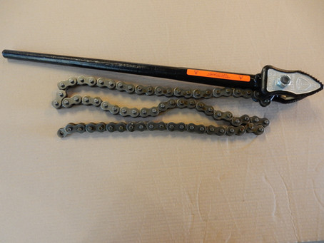 Chain tongs and Vise for one of our customers.