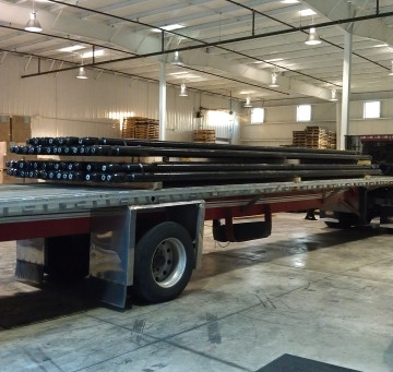 Storage, climate controlled and trucking