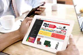 Site Internet mobile et tablette