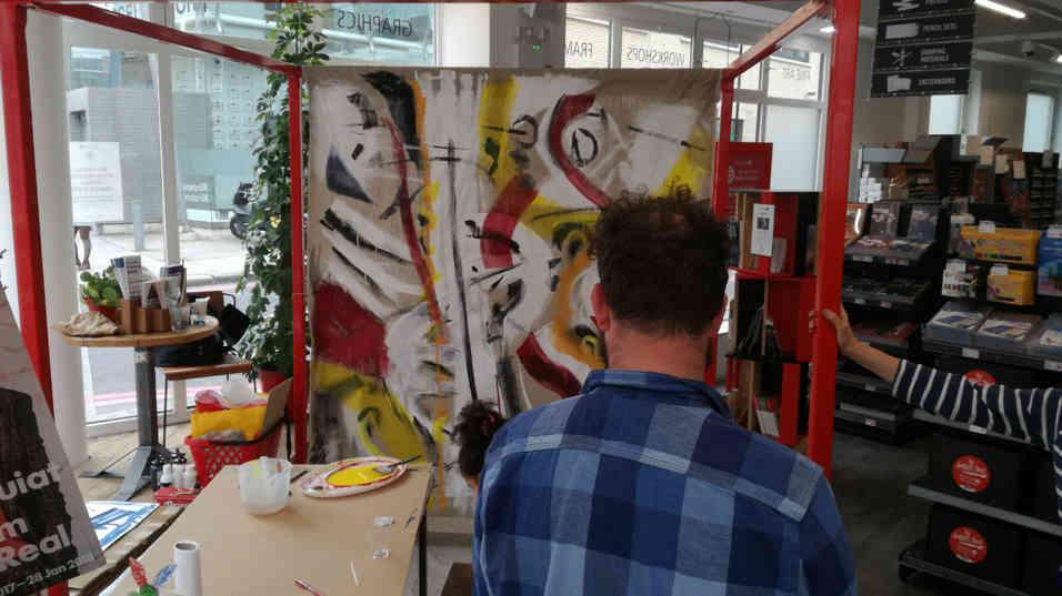 Espace d'expériences GreatArt Londres - résidence d'Artiste