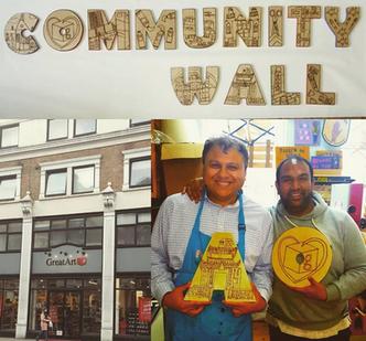 GreatArt Londres - community wall