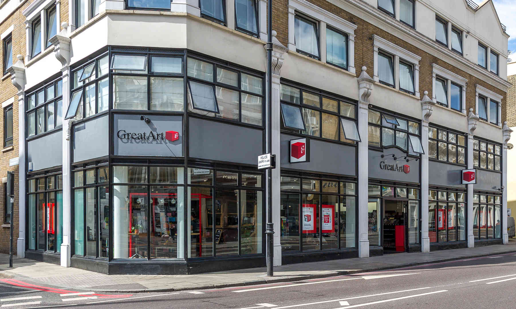 Point de vente GreatArt Londres