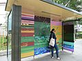 Corrupted Bus Stop, 2014