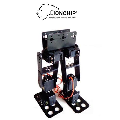 Robot Bipedo 6 DOF (Solo Estructura)