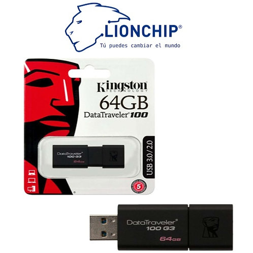Memoria USB 3.0 Kingston DataTraveler 64 GB