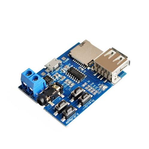 Modulo Gpd2856c Reproductor Mp3 Con Lector Micro Sd