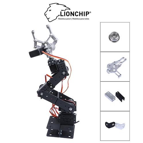 Brazo Robot 6 DOF (Solo Estructura)