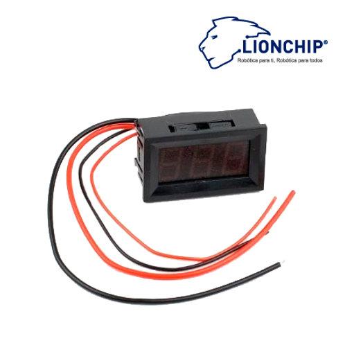 Medidor Amperimetro Digital DC 0-9.99A