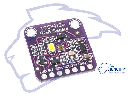 Sensor De Color Luz Tcs34725
