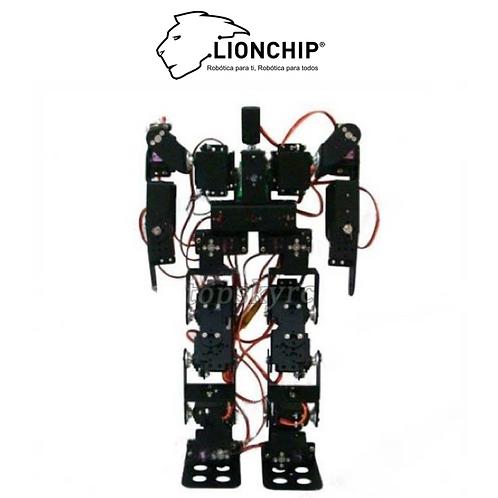 Robot Humanoide 17 DOF (Solo Estructura)