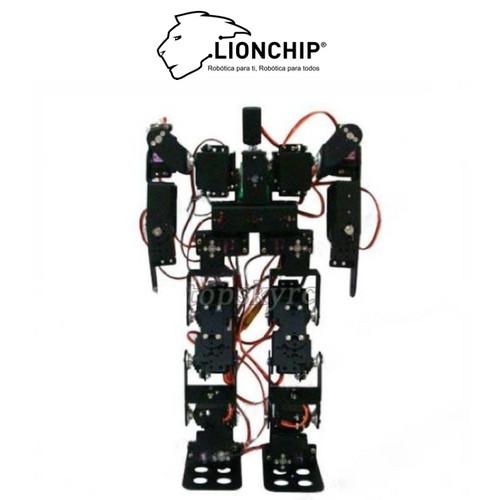 Robot humanoide servos motores