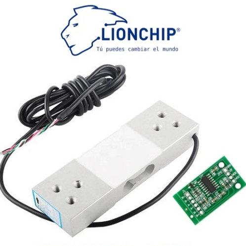 Celda de Carga 100 Kg con HX711 Sensor Peso