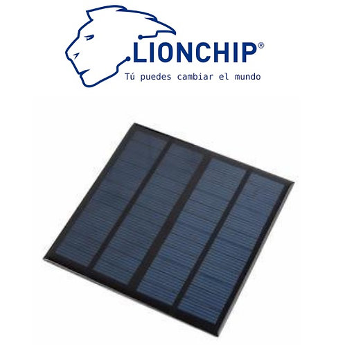 12v 3W Panel Solar 145x145mm