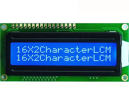 1602A Display LCD 16x2 Azul