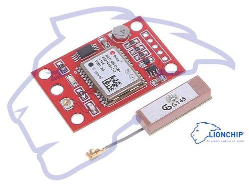 Gps Ublox Neo 6m Neo-6m con Antena