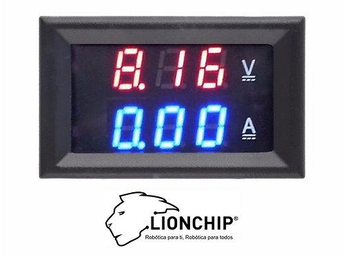 Voltimetro y Amperimetro Digital 0-100v 10A