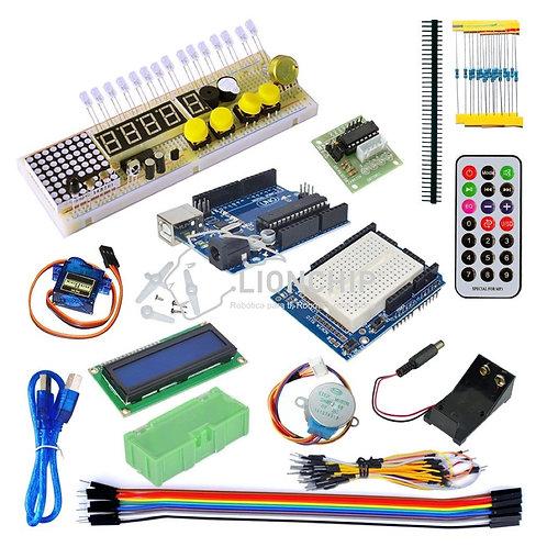 Kit Placa UNO Starter Compatible Arduino IDE