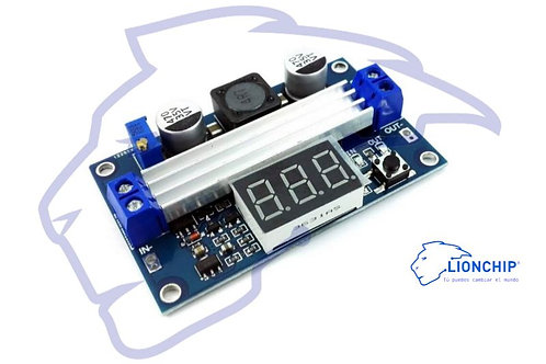 STEP UP Amplificador de Voltaje con Display