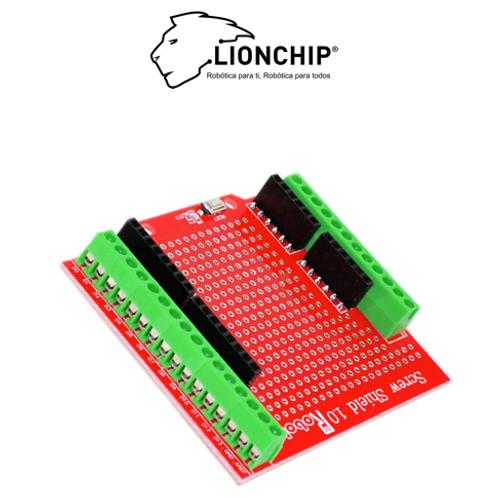 Screw Shield Para Arduino UNO Clemas Tornillos