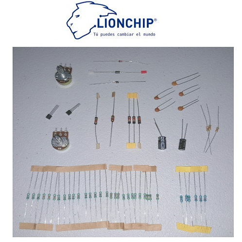 Kit De Circuitos Electricos Y Mediciones Componentes Analogos
